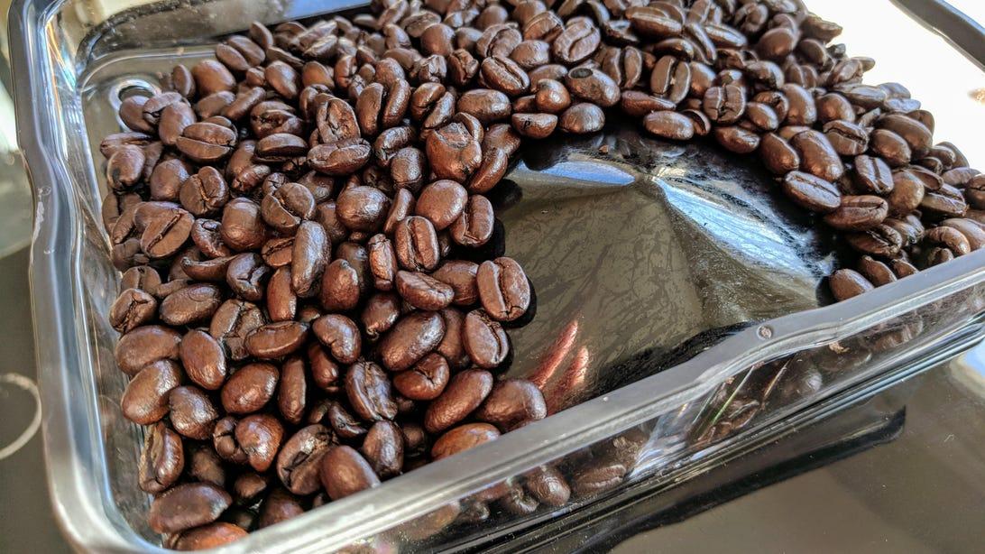 Smarter Coffee 2nd Gen_bean hopper