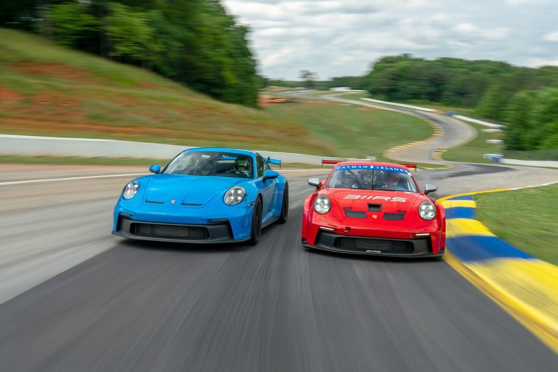 Porsche 911 GT3 and GT3 Cup