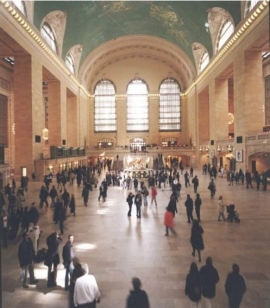 Grand Central terminal in New York.