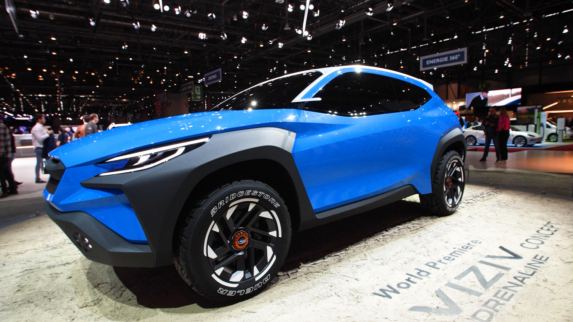 Video: Subaru Viziv Adrenaline concept gives a look at new 'Bolder' design
