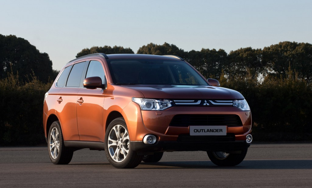 The 2013 Mitsubishi Outlander on which the plug-in hybrid model will be based.