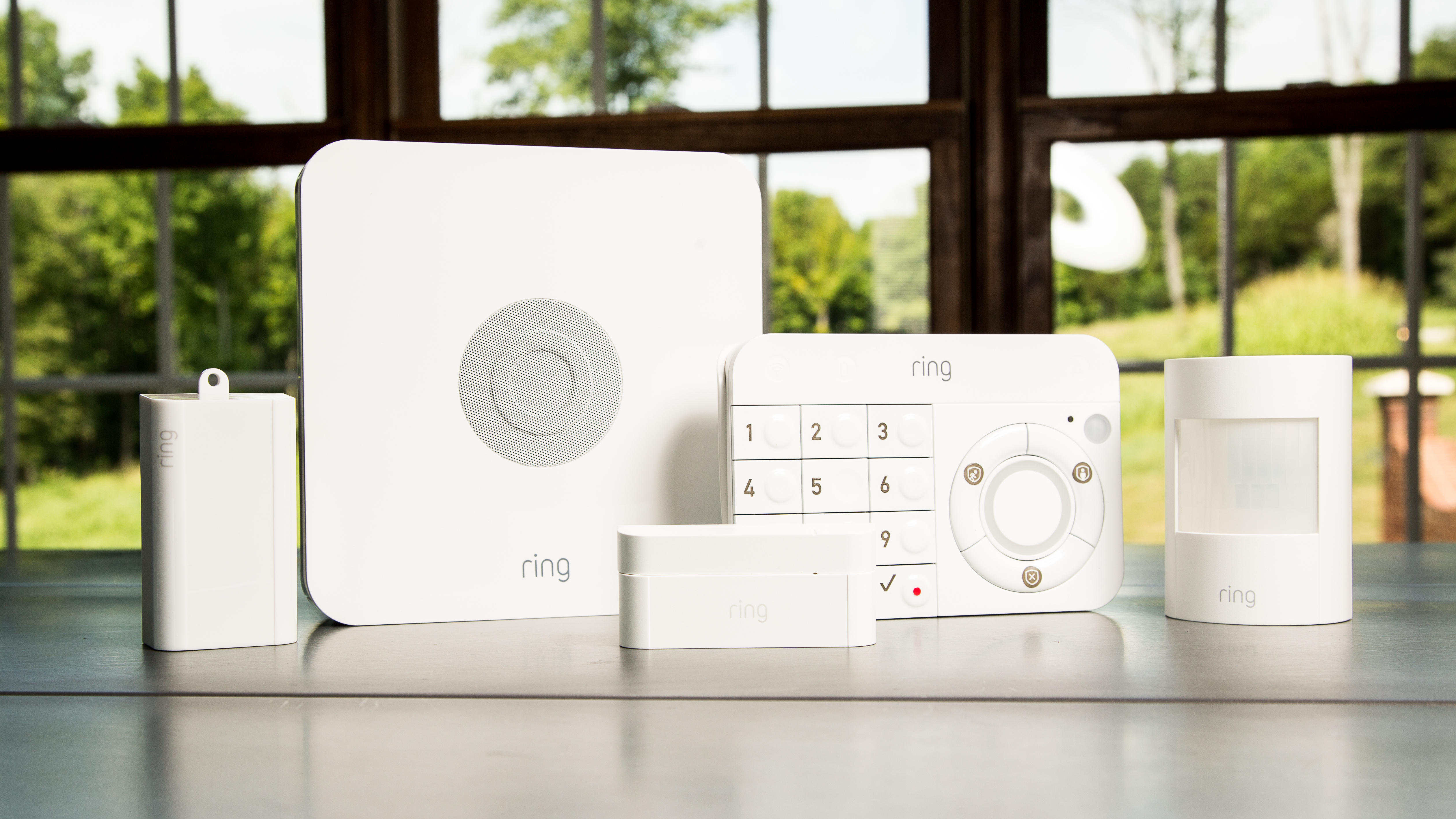 Ring Alarm Security Kit Review Ring S Crazy Affordable Diy System Nails Simple Home Security Cnet