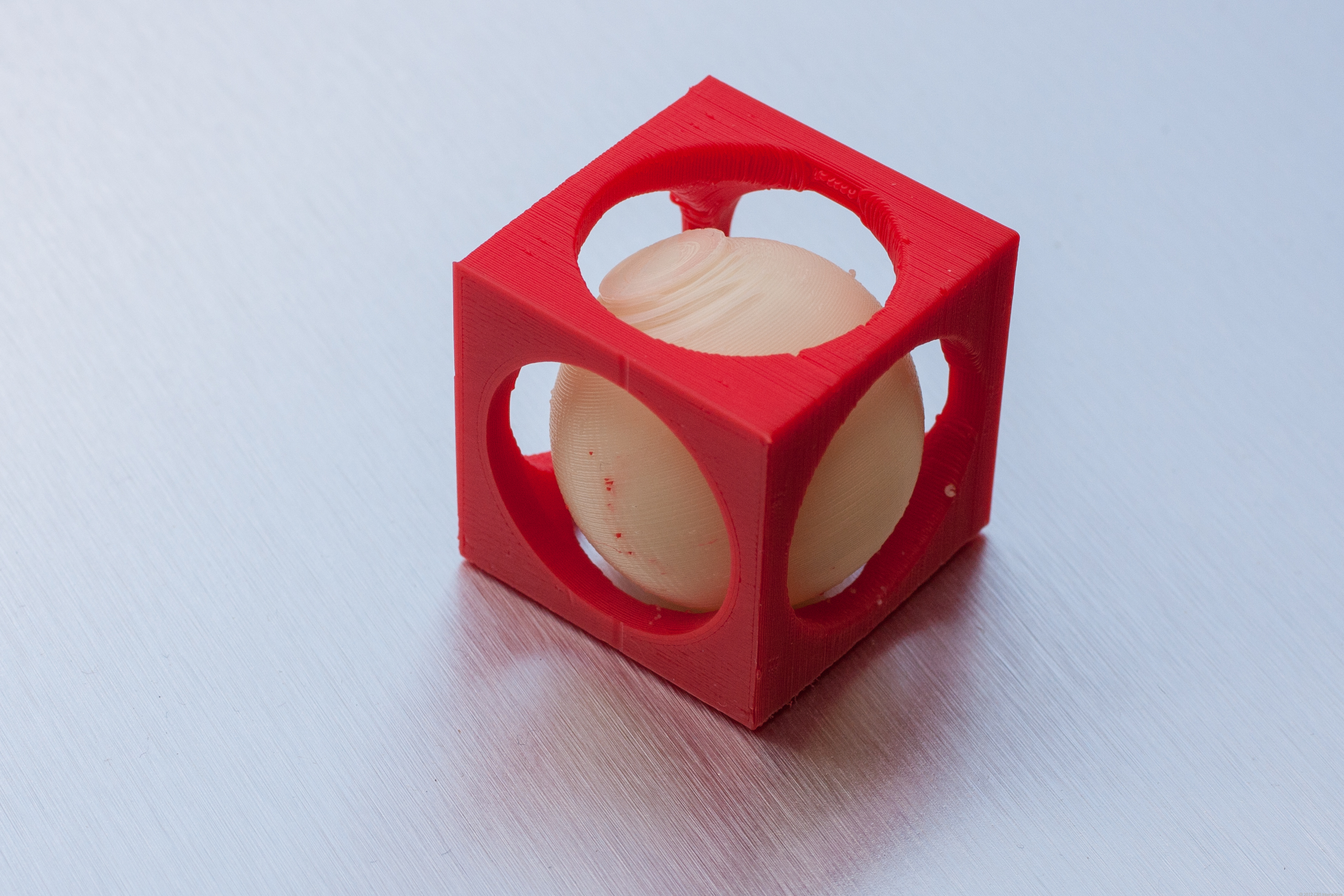 Dualstrustion Ball in Cube
