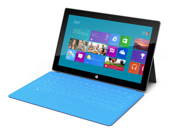 Microsoft Surface.  Acer founder claims Microsoft's entry into the tablet market is temporary.