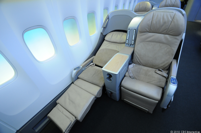 Business class bed