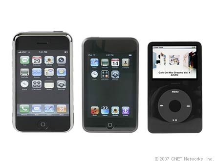 Photo of Apple iPhone, iPod Touch and iPod Classic