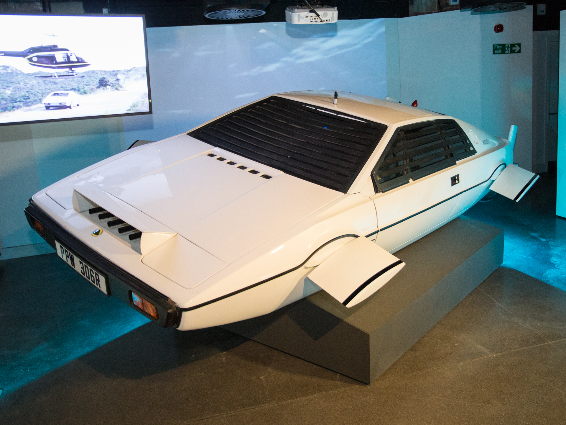 The Lotus Esprit from The Spy Who Loved Me