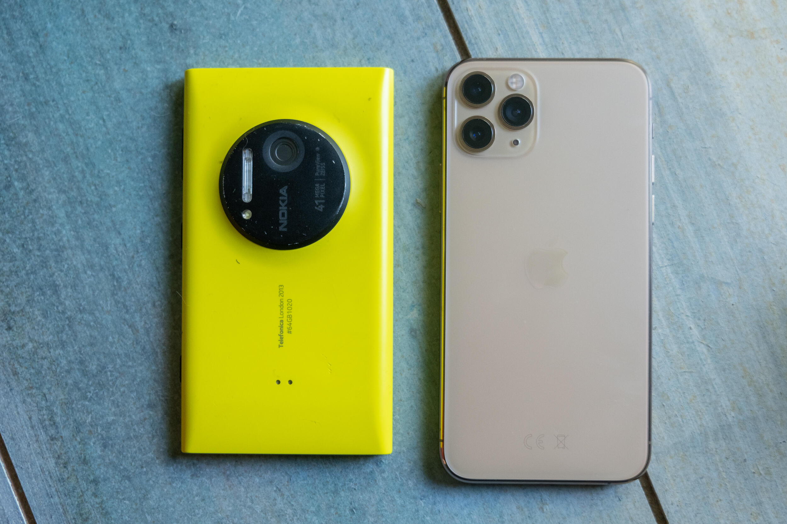 iPhone 11 Pro's camera compared with this 7-year-old phone is a surprisingly close match