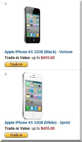 Amazon promises pretty good money for your used iPhone -- except that you'll have to take it in gift card form.