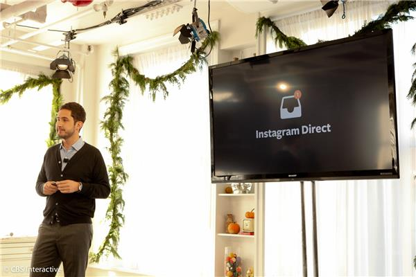 Kevin Systrom introduces Instagram Direct