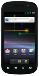 Google's Nexus S Android phone is one of the rare phones already equipped with near-field communications technology.