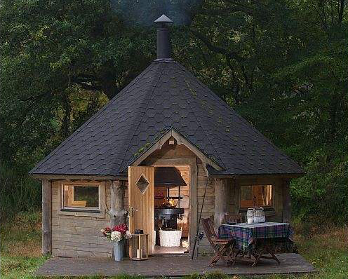 A tiny hobbit house fit for two