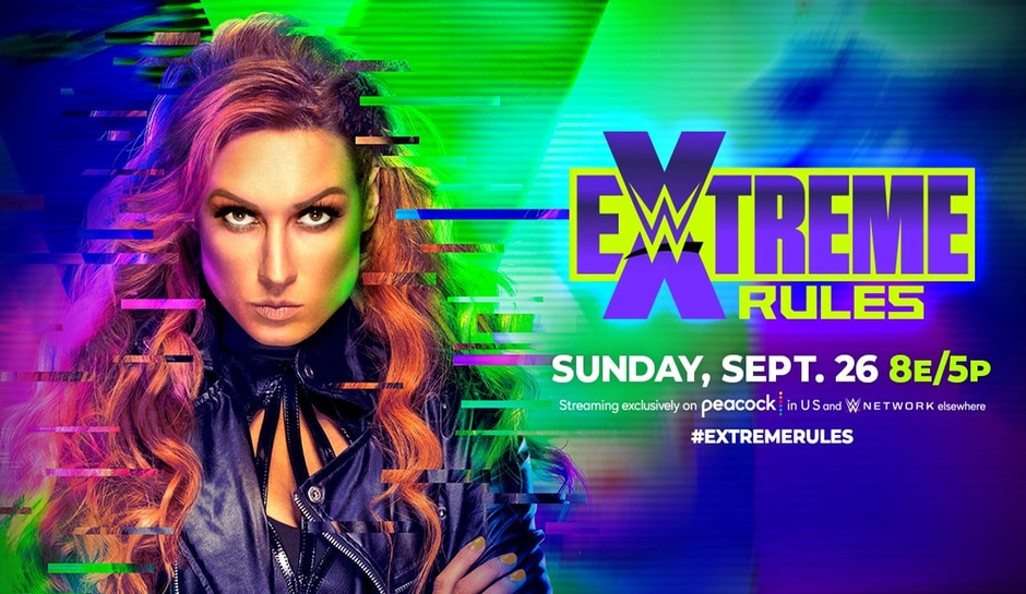 WWE Extreme Rules 2021: How to watch, start times, full card and Peacock     – CNET