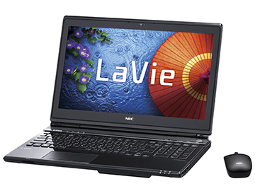 NEC's touch-screen equipped LaVie L is one of the first laptops to be announced with a future Intel Haswell processor.