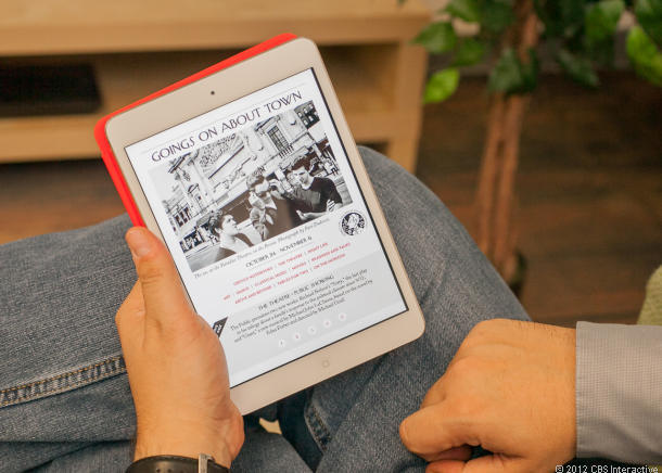 Apple's most inexpensive iPad, the Mini, is also spurring sales.