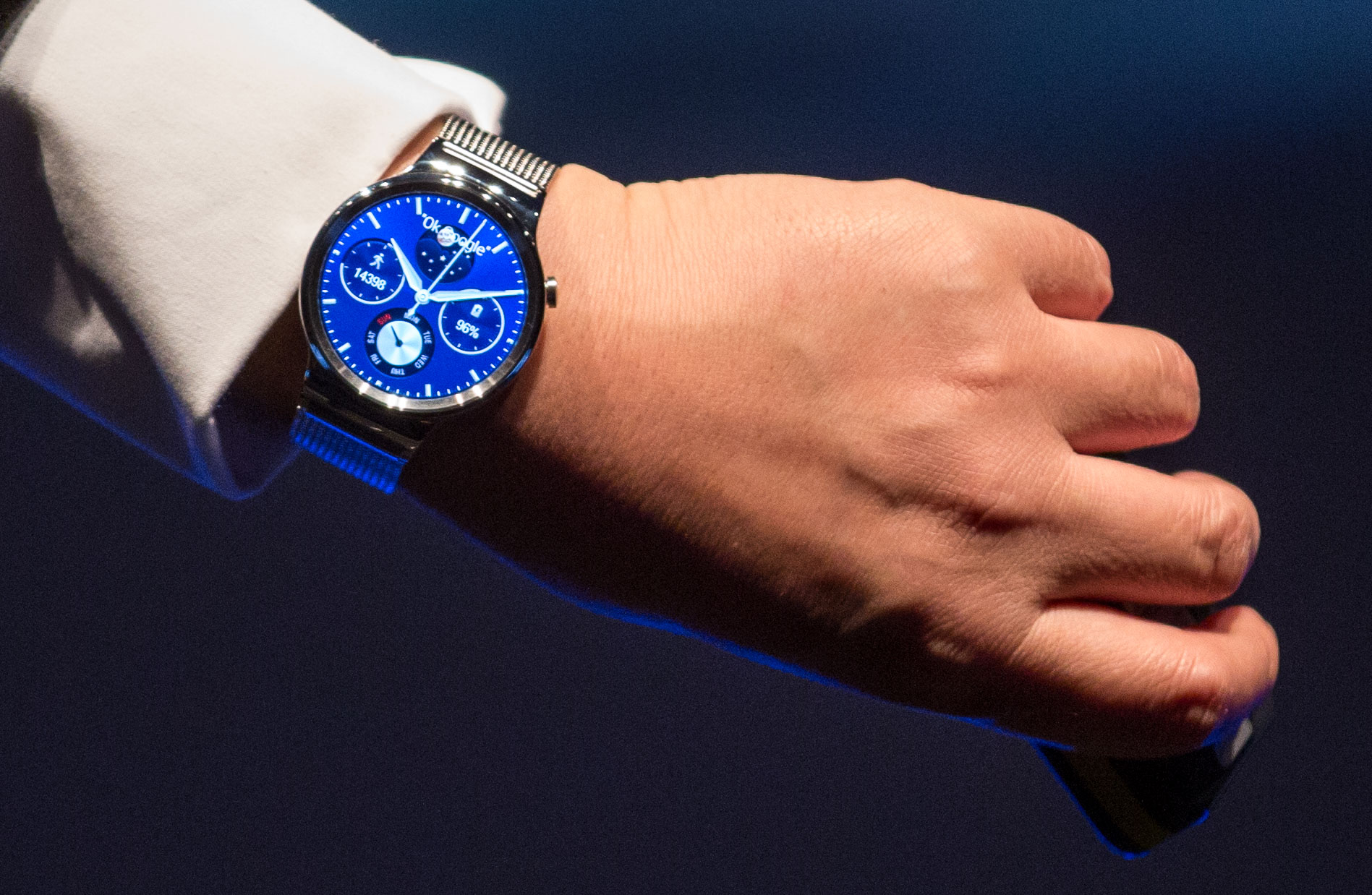 The Android-powered Huawei Watch is designed to bring a more classical look to the smartphone market.