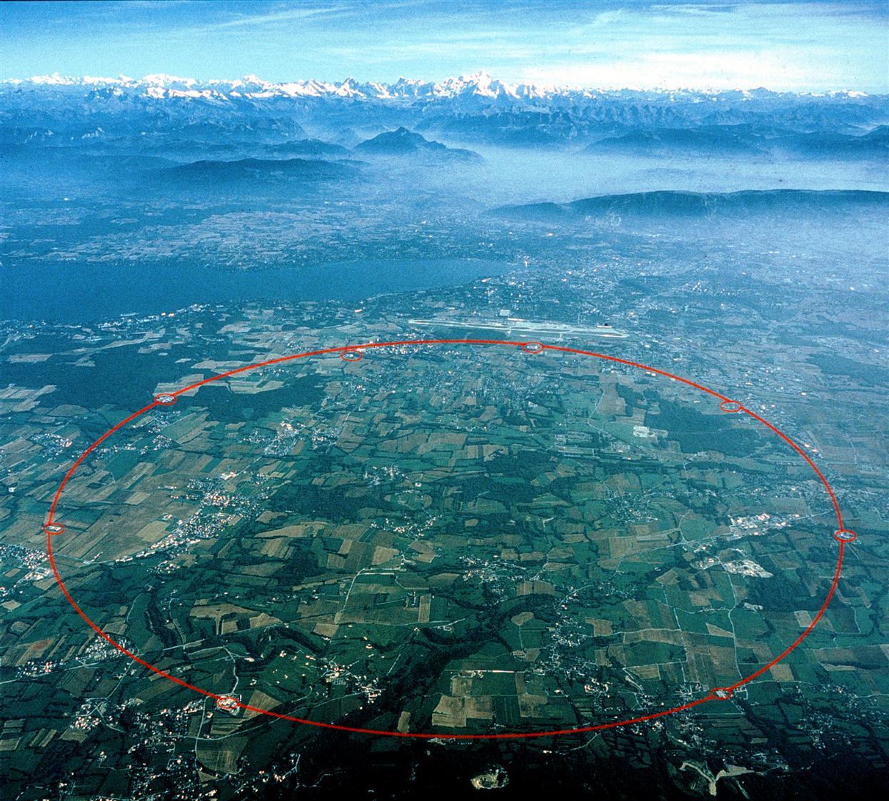CERN's huge particle accelerator complex near Geneva is used to generate neutrinos for the Opera experiment.