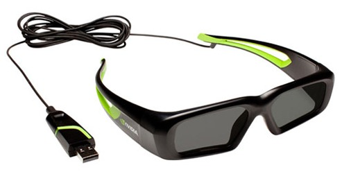 wired 3D glasses