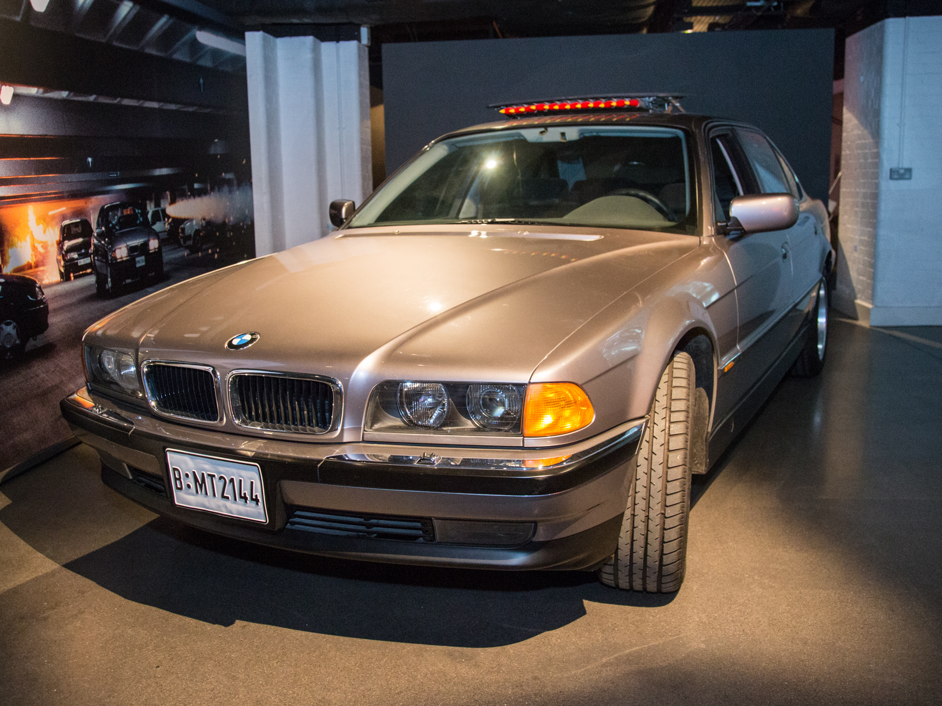 The BMW 750i featured in Tomorrow Never Dies