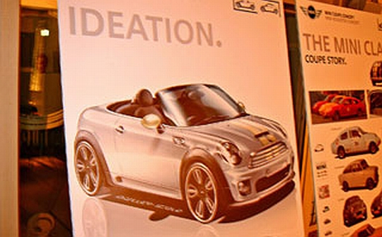 Now this is what the Cooper convertible should have looked like in the first place.