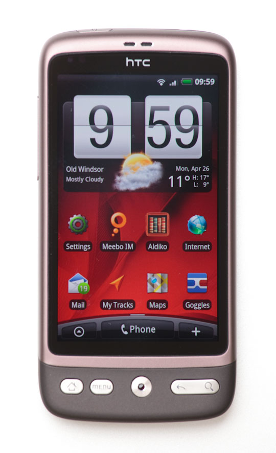 The HTC Desire edged out the Nexus One as my top Android phone pick.