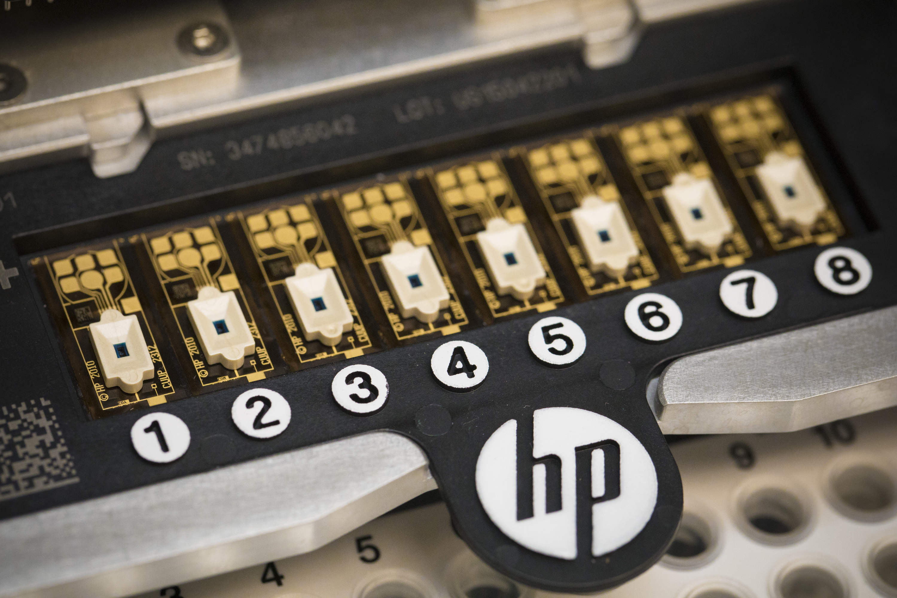 HP has repurposed its inkjet printers to construct structures from living cells.