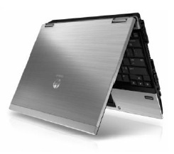 HP's EliteBook 2540p ultraportable is offered with Intel solid-state drives.