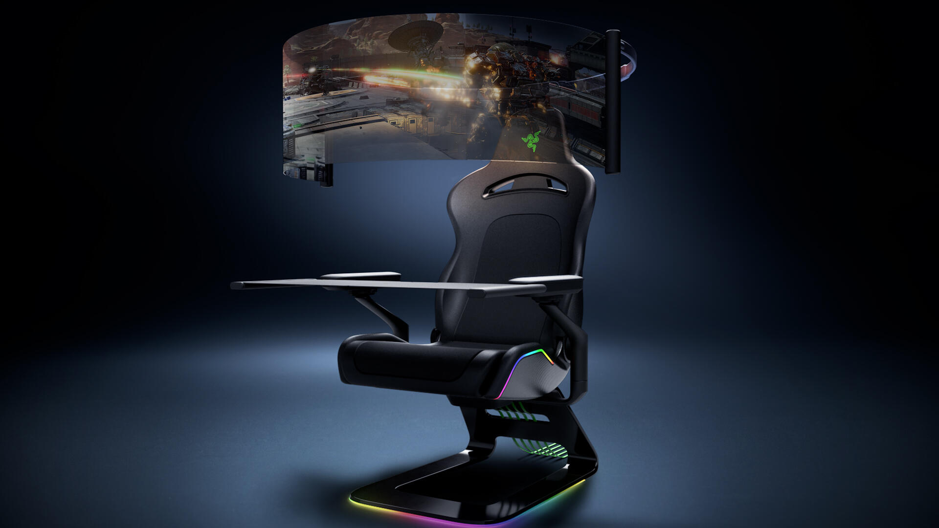 Video: Razer's CES 2021 concept pieces are a smart mask and the world's craziest gaming chair