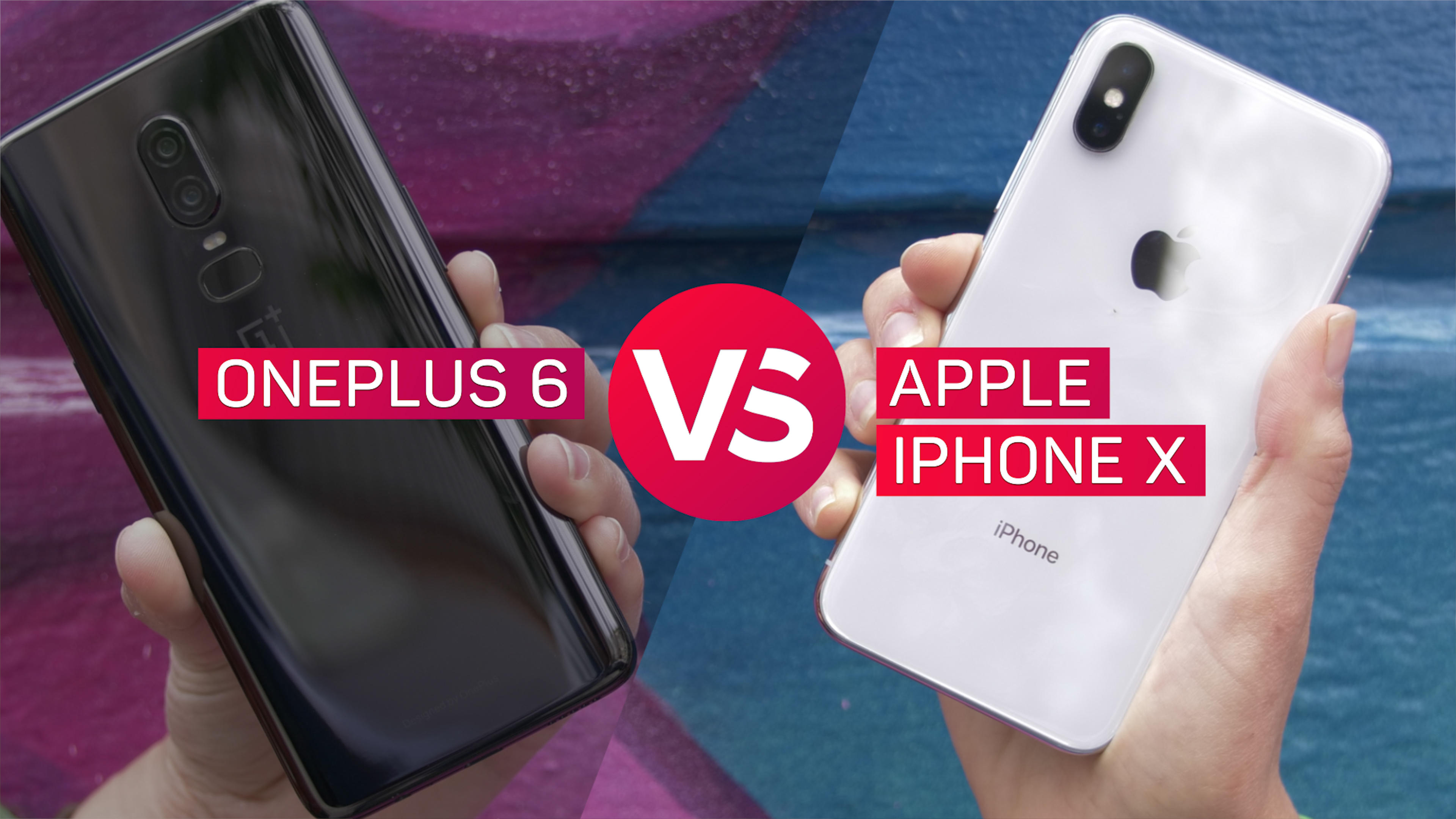 Video: Camera showdown: iPhone X vs OnePlus 6