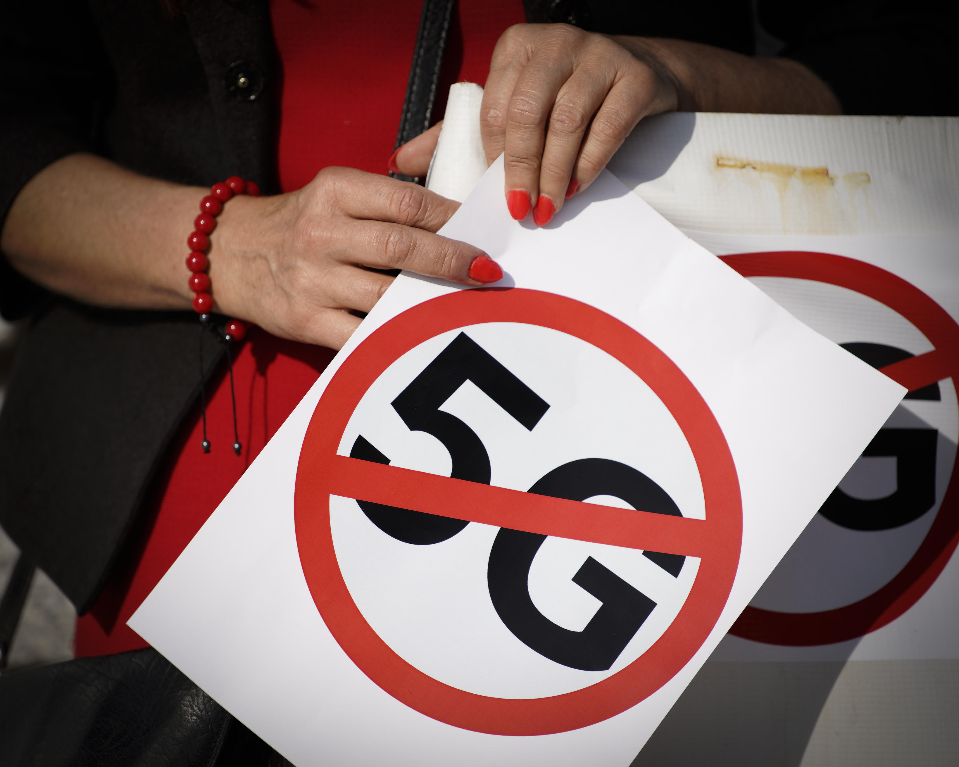 <p>Activists fear radiation from 5G wireless service could be dangerous to public health. And they want more research done before carriers deploy the technology.&nbsp;</p>