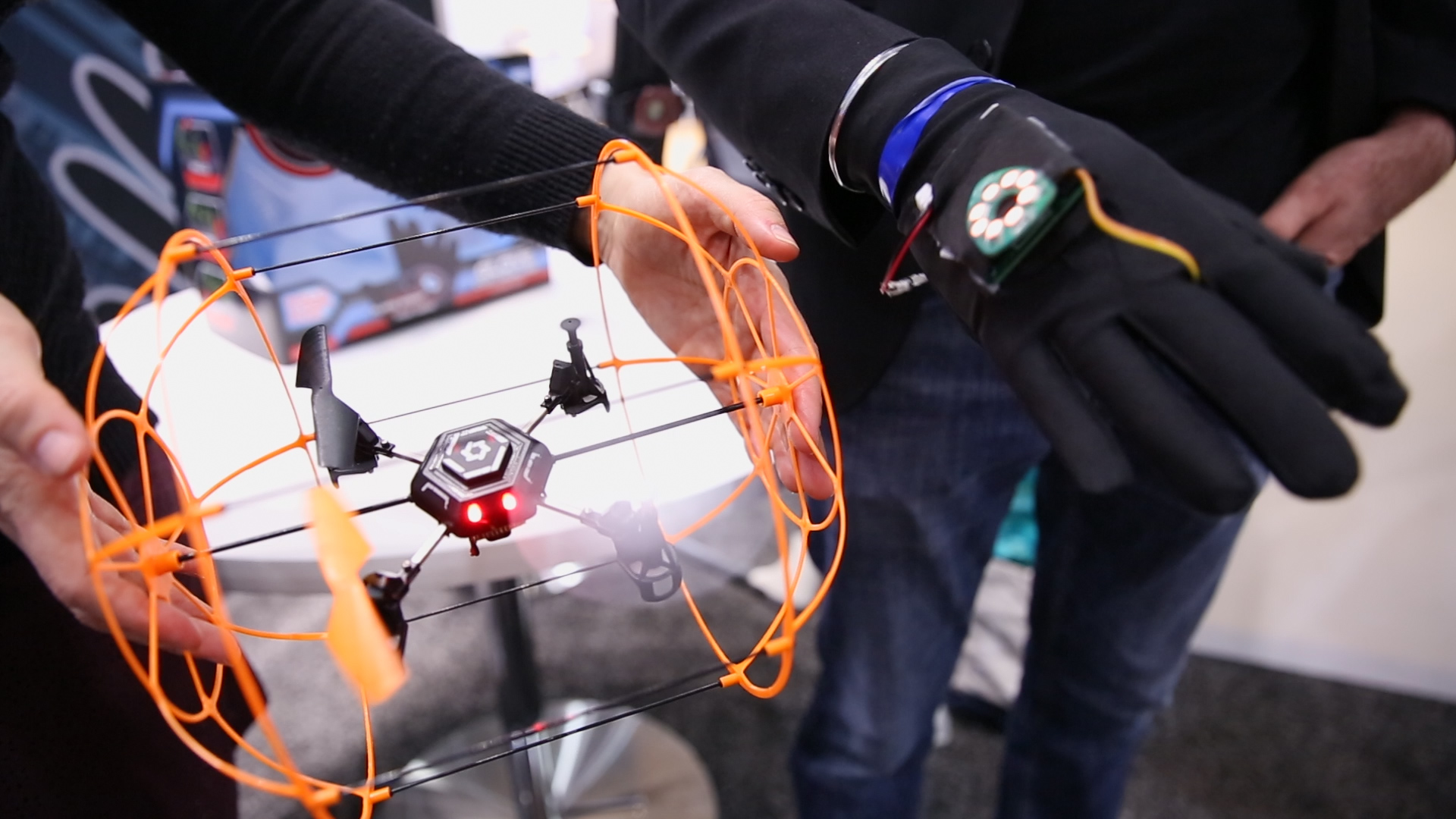 Video: Aura is a drone you fly with hand gestures