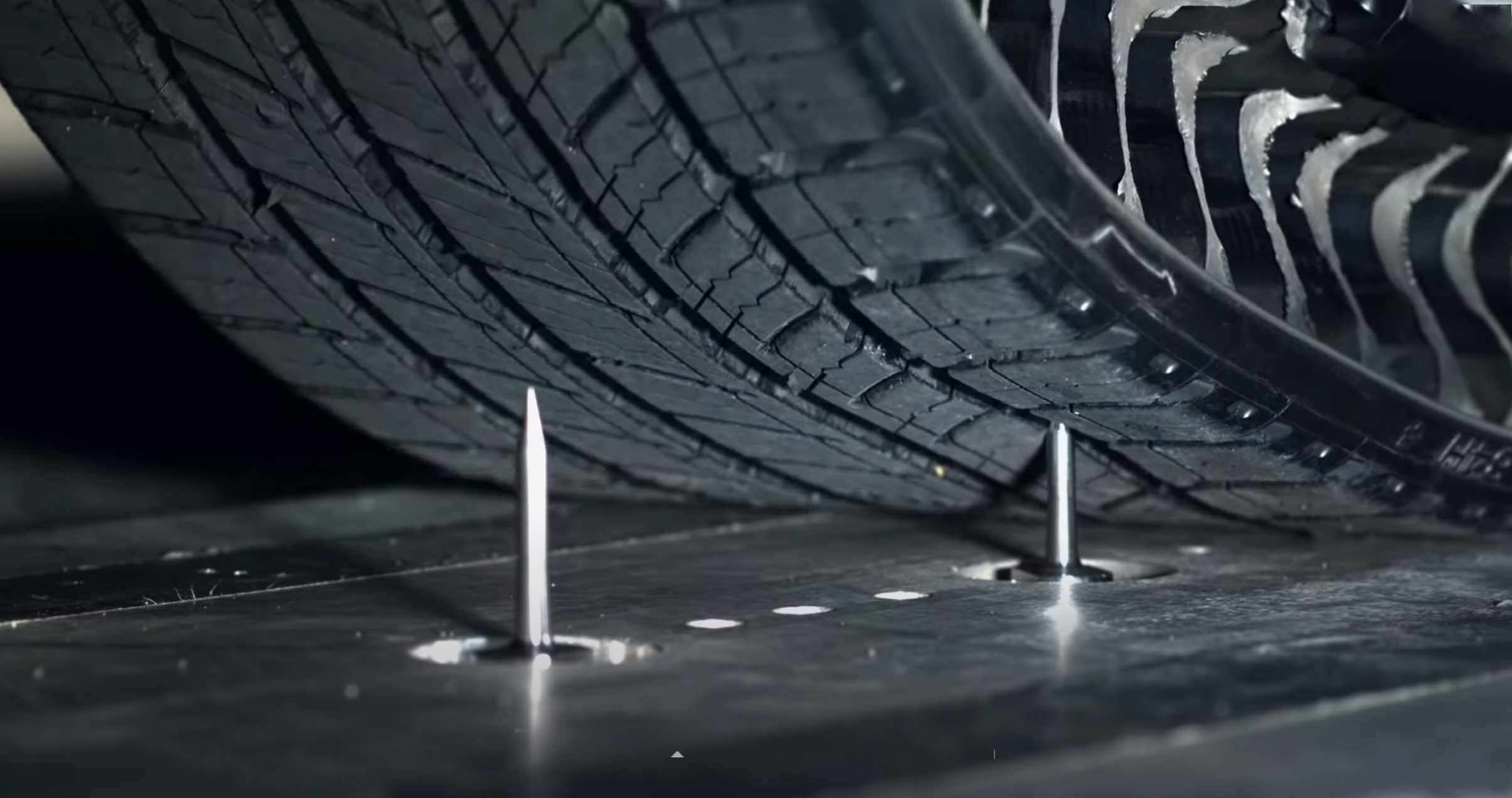 Uptis tire and nails
