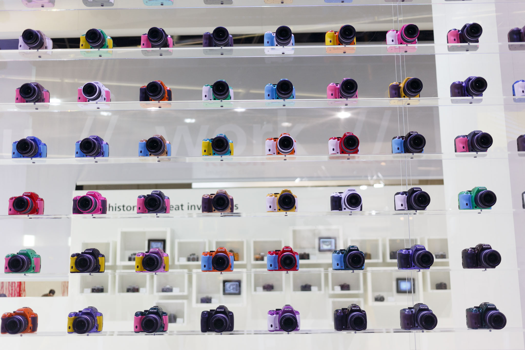 Colorful Pentax SLRs