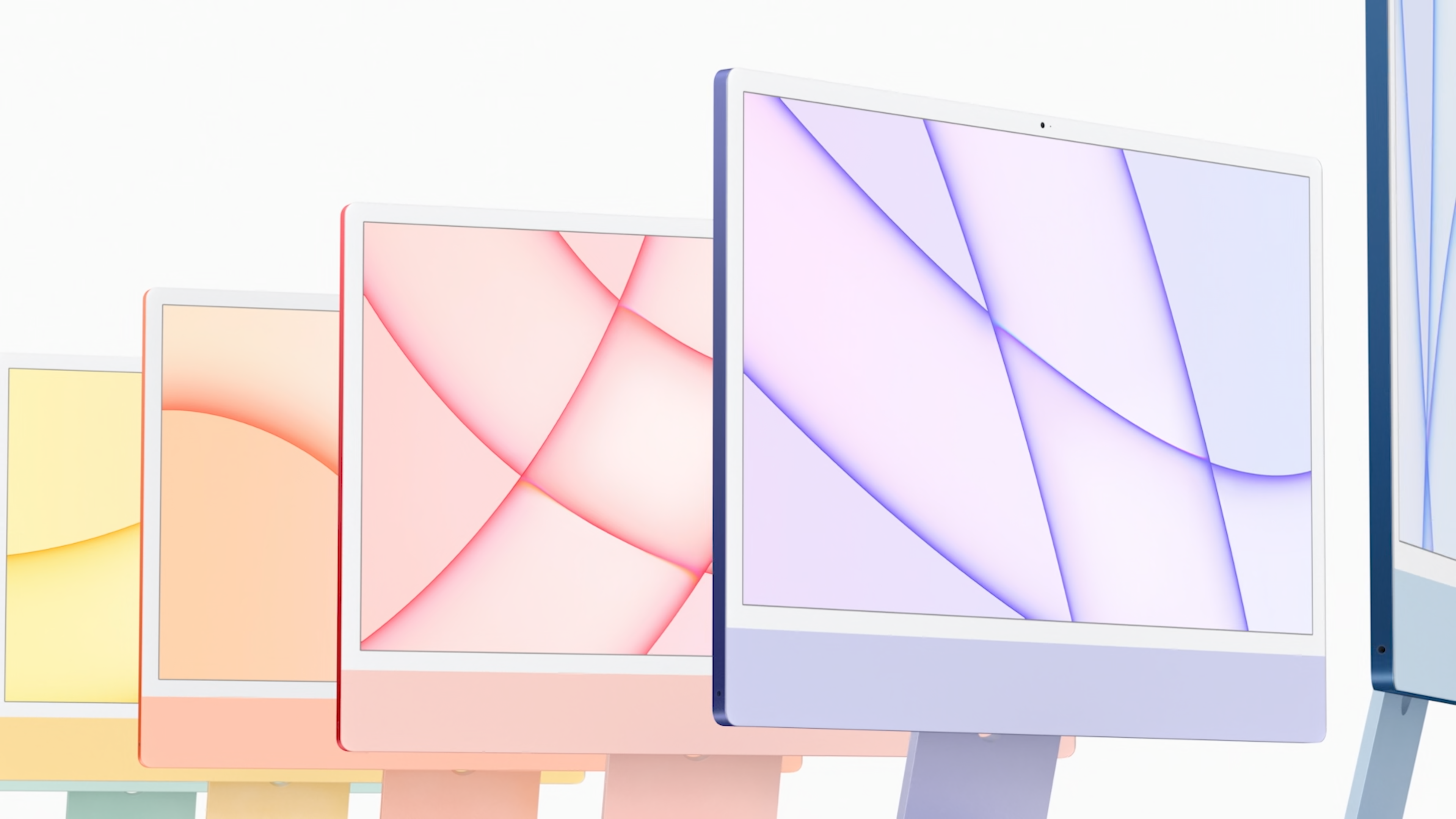 New iMac gets jolt of color in Apple's first redesign since 2012 - CNET