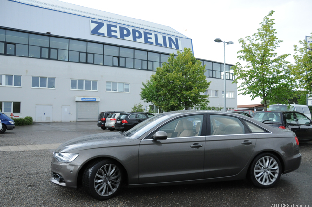 A6 at Zeppelin headquarters