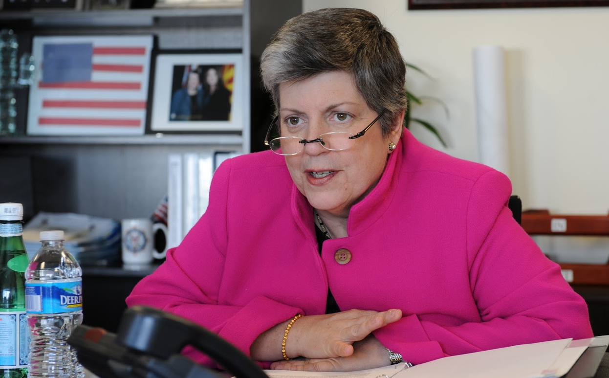 """CISPA could give Homeland Security's Janet Napolitano the authority to """"deploy countermeasures"""" on the Internet."""