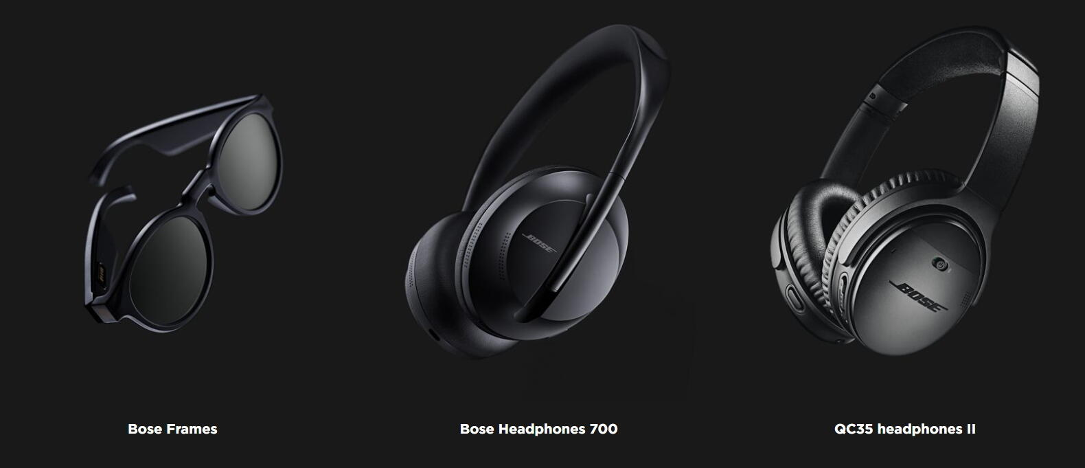 Bose AR products