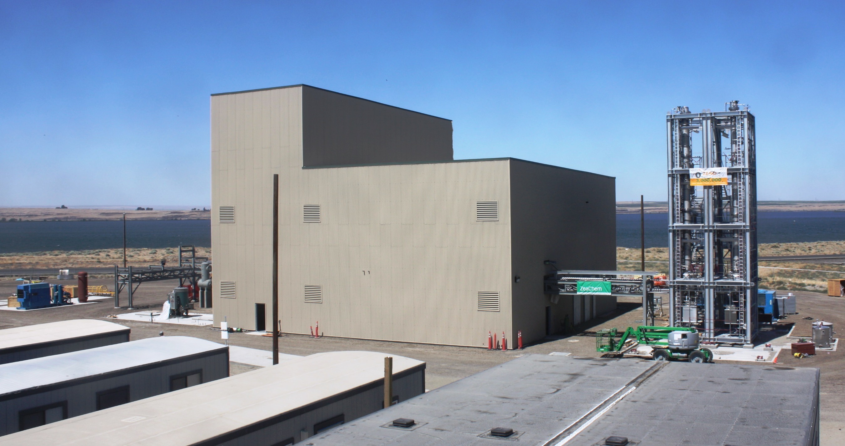 ZeaChem's demonstration facility in Oregon this fall will turn woody biomass into ethanol and other chemicals.