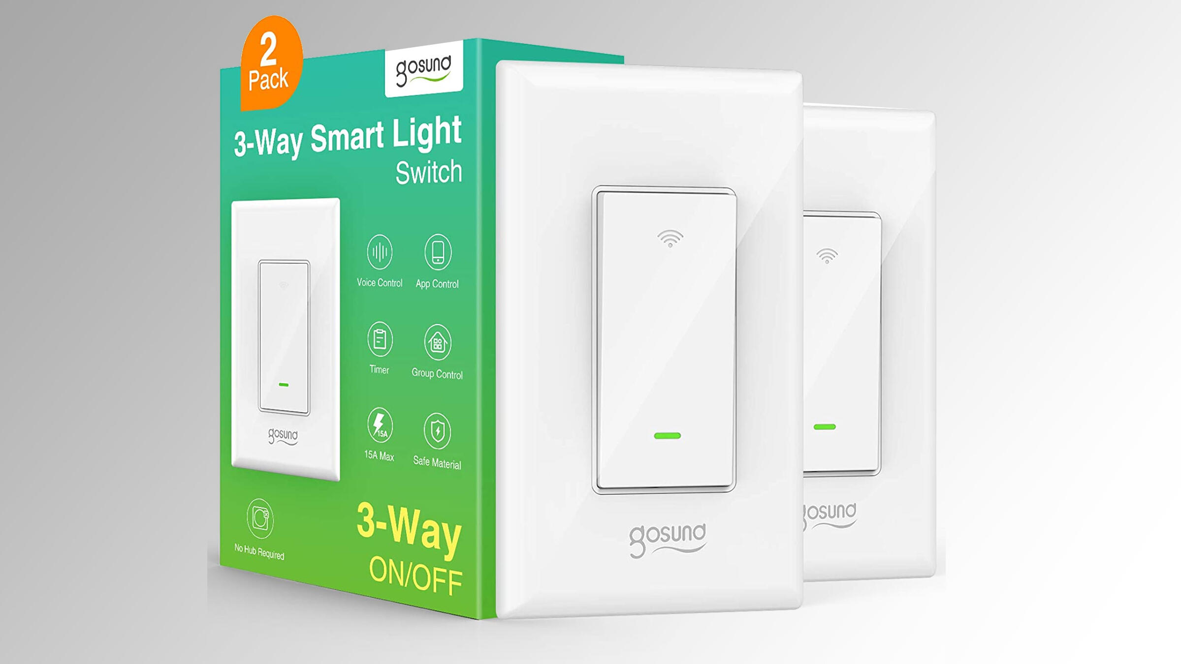 Get a pair of smart Wi-Fi 3-way light switches for $13.69, a tie for the lowest price ever     - CNET