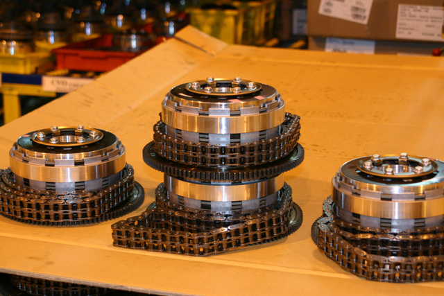 Chain drive assembly