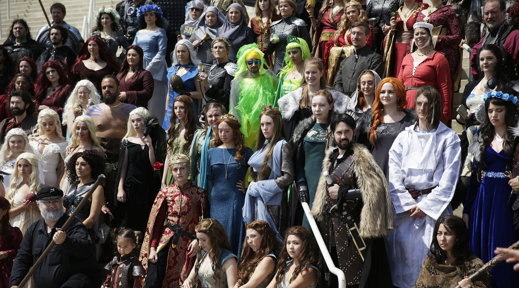 The biggest army of GoT cosplayers in any kingdom