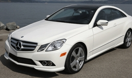 The stunning, sort-of-affordable Mercedes E550 Coupe