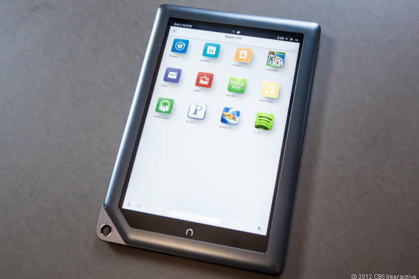 The Nook HD+ tablet.