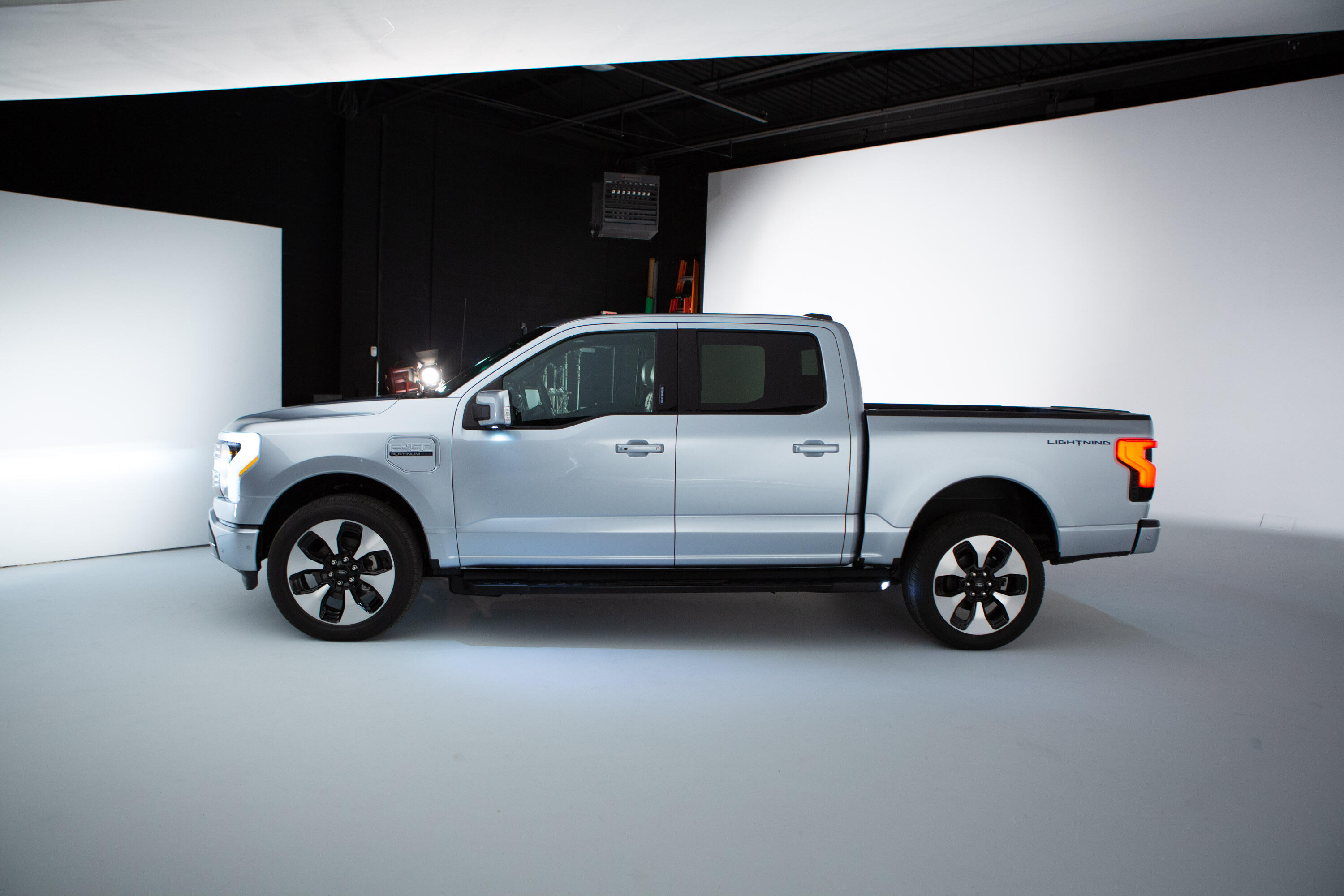 2022 Ford F-150 Lightning - side view