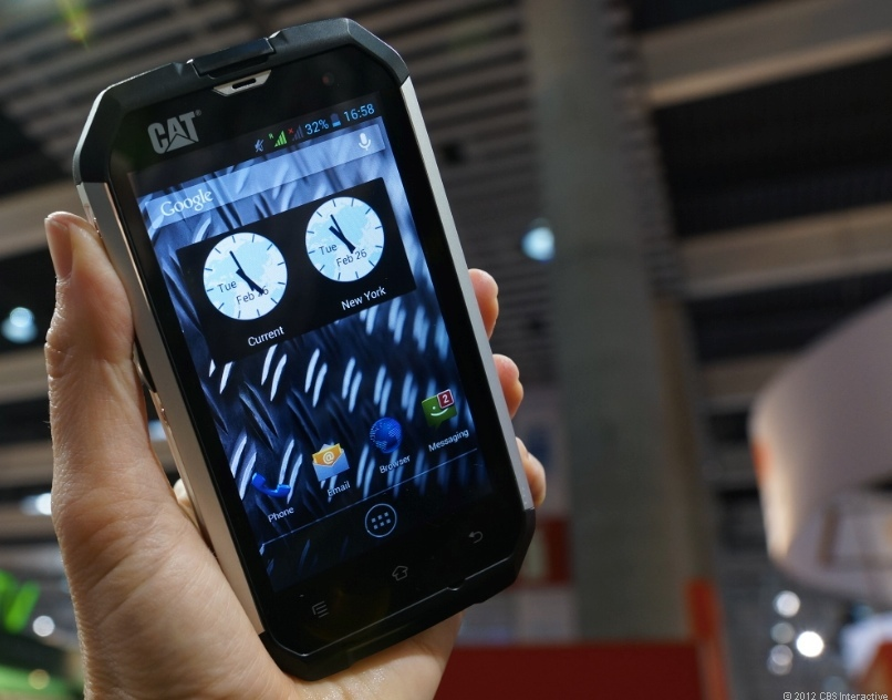 Cat B15 Android phone