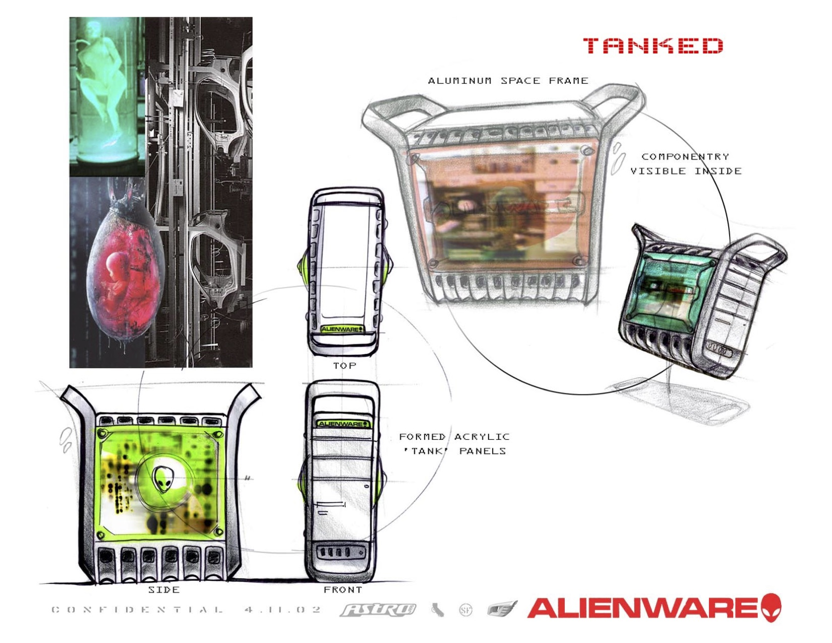 The Alienware Tanked
