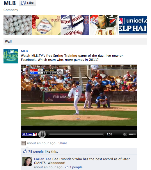 MLB.com on Facebook