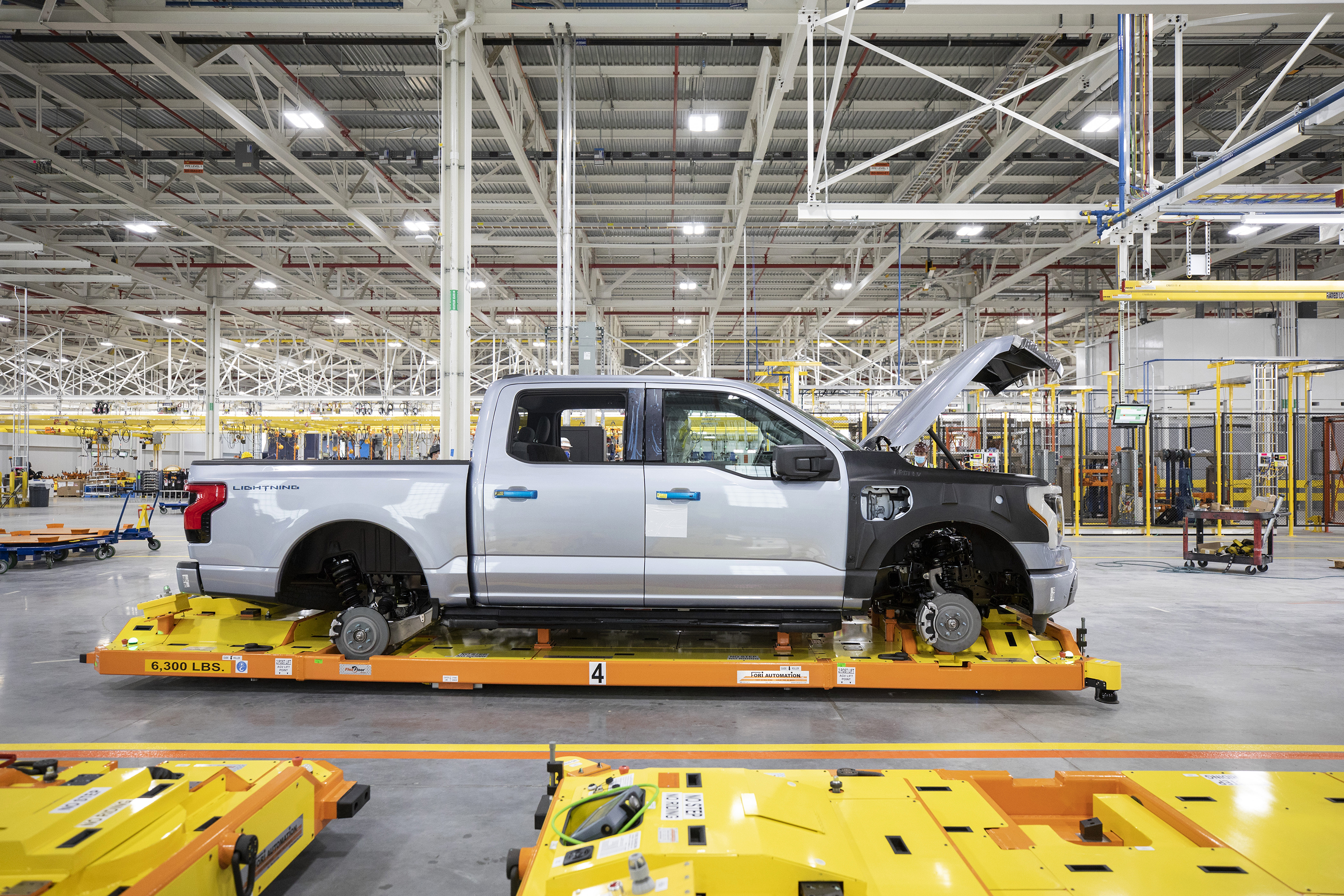 Ford F-150 Lightning Preproduction - manufacturing