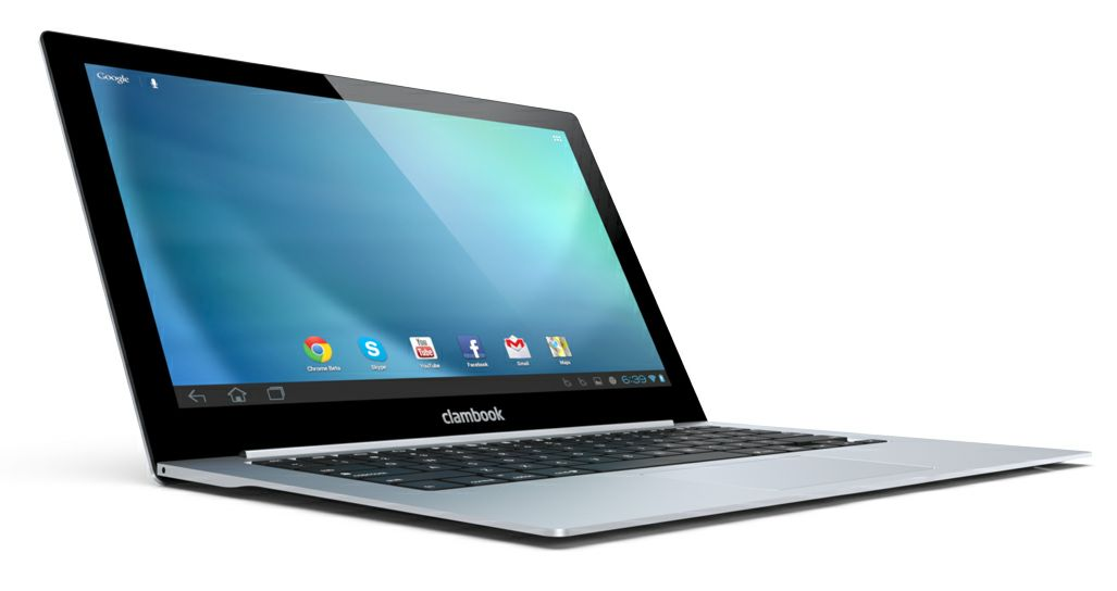 The new MacBook Air? No, the ClamCase, which could potentially turn your smartphone into the next best thing.
