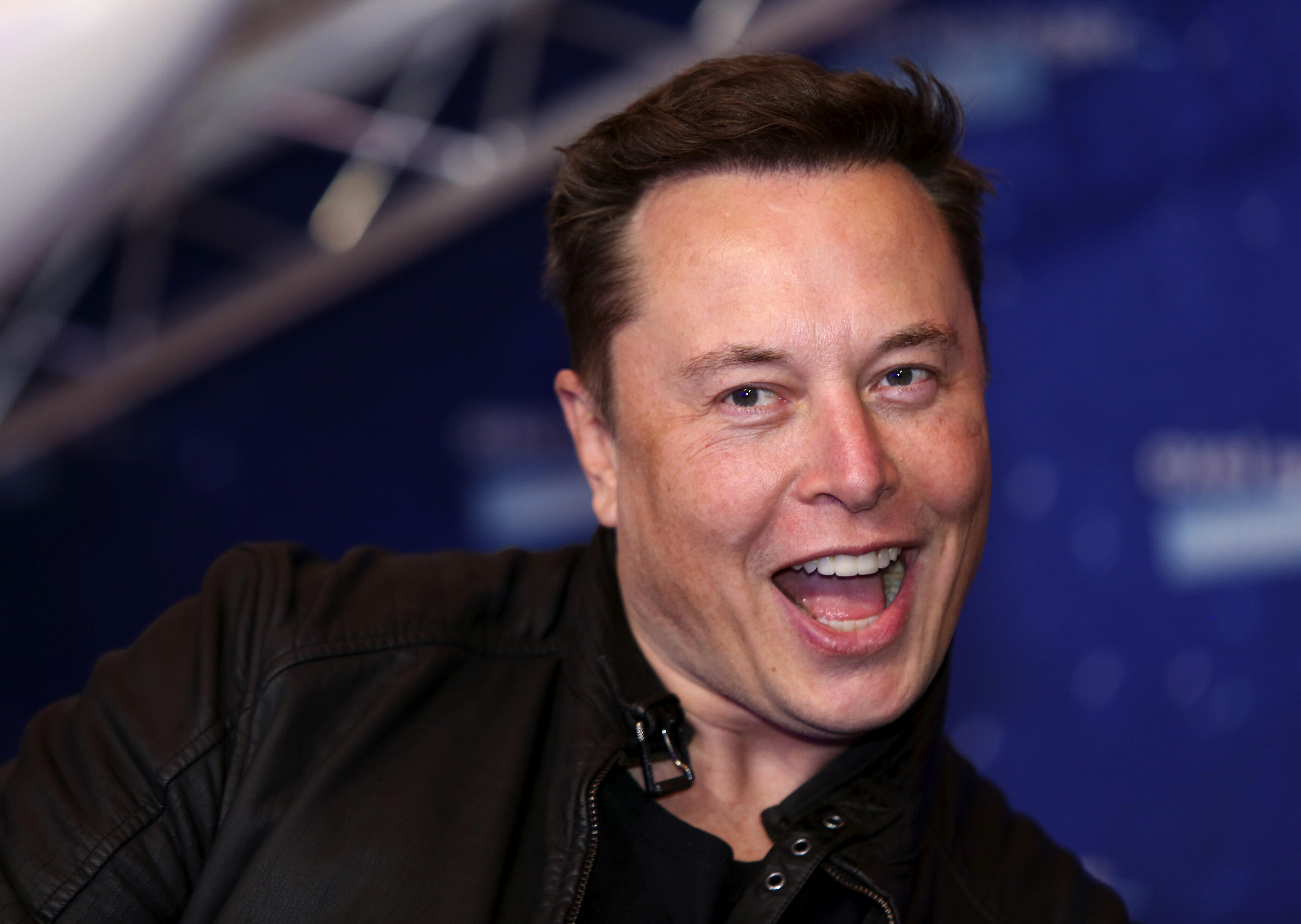 <p>Tesla had a great 2020, despite the pandemic and this guy is stoked.</p>